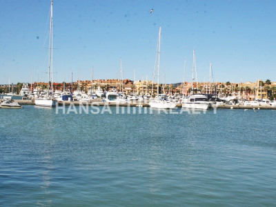 ONE OF LARGER MOORINGS IN SOTOGRANDE