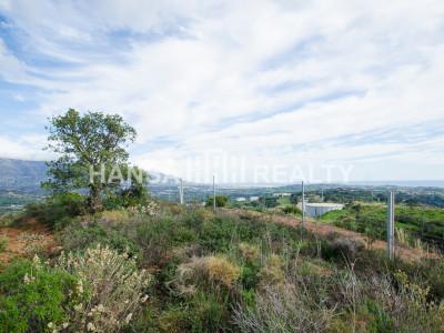 Bouwgrond met panoramisch uitzicht