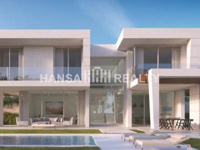 Moderne villa's met spectaculair uitzicht op zee en op de golfbaan