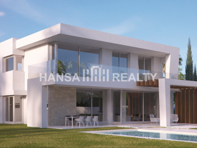 MODERN VILLAS WITH SPECTACULAR SEA AND GOLF VIEWS