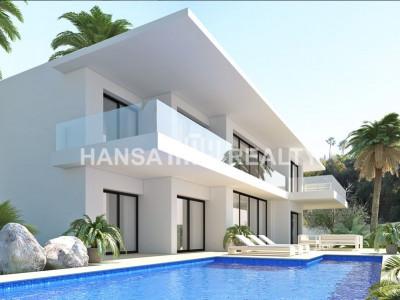 Proyecto de villa de diseño contemporáneo en Benahavis