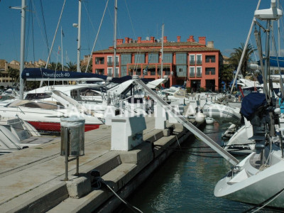 Mooring in front of Hotel Marítimo Sotogrande
