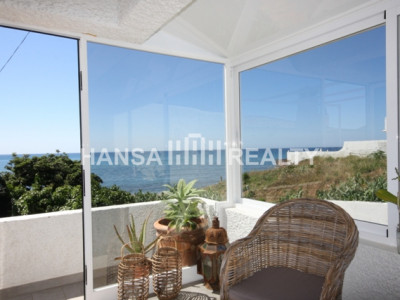 SUMMER HOUSE ON THE BEACH - Villa for rent in El Chaparral, Mijas Costa