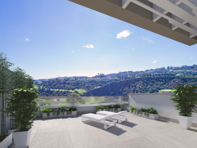 Brand new front line golf townhouses for sale in La Cala Golf – Mijas