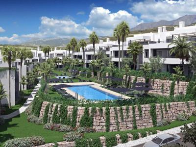 New modern contemporary first line golf off plan development in Casares