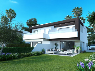 Modern boutique project of 22 townhouses in New Golden Mile - Estepona
