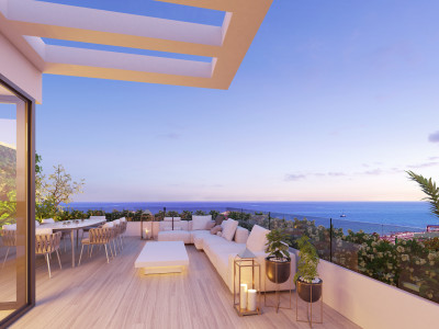 New modern townhouses for sale in Mijas Costa