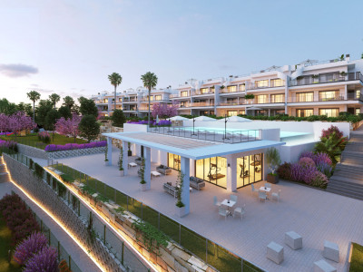 New contemporary apartments for sale in Manilva