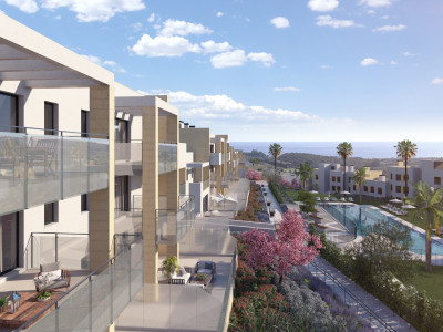 New frontline golf modern apartments for sale in Casares