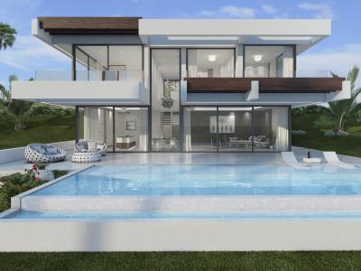 New contemporary villa for sale in Estepona