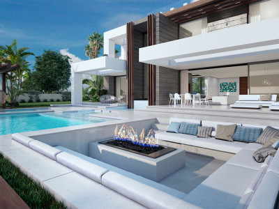New modern style villa for sale in Puerto de la Duquesa