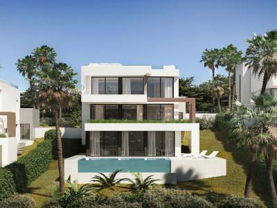 Detached complex of modern villas for sale in Mijas