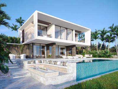 New Modern contemporary villas for sale in Estepona
