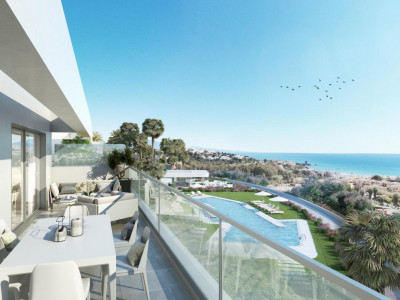 New development of modern apartments in Casares - Estepona West