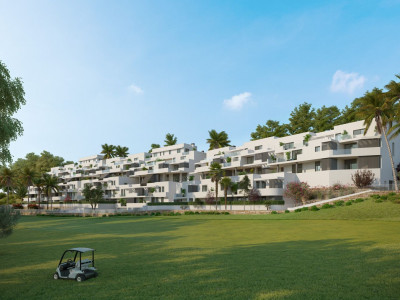 Modern golf apartments for sale in Estepona
