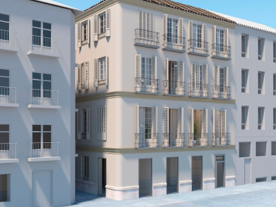 Classic style apartments for sale in Málaga city centre