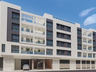 Modern city apartments for sale in the centre of Malaga