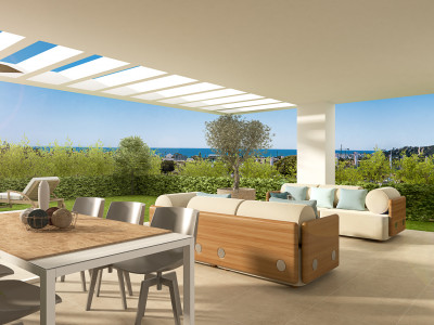 Contemporary apartments and penthouses for sale in Estepona