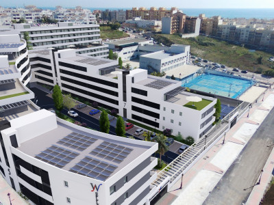 Off Plan modern apartments and penthouses for sale in Estepona downtown