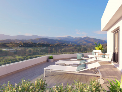 New development of contemporary apartments in Cancelada - New Golden Mile