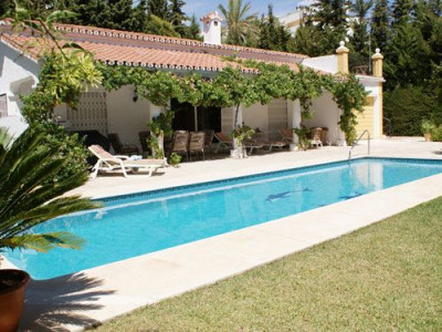 Villa for rent in Marbella Golden Mile, Casablanca
