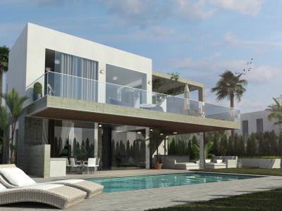New contemporary villas for sale