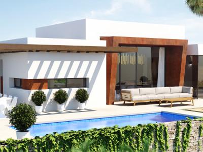 New project of modern Contemporary villas in Mijas Costa