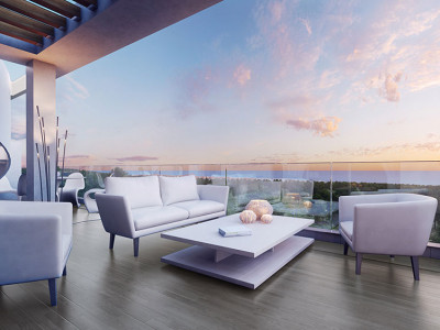 New ultra-modern townhouses for sale on the New Golden Mile in Estepona