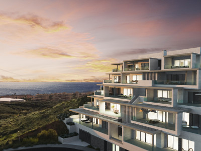 New modern contemporary apartments for sale in La Cala de Mijas, Mijas Costa