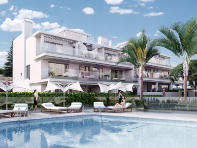 New modern contemporary apartment for sale on the New Golden Mile in Estepona