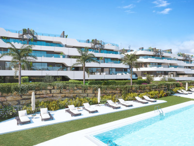 New exclusive modern apartments for sale on the New Golden Mile in Estepona