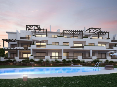 New development of modern apartments in Casares Estepona West