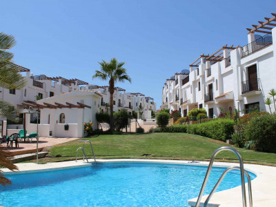 New apartments first line golf for sale in La Alcaidesa on the west side of Estepona