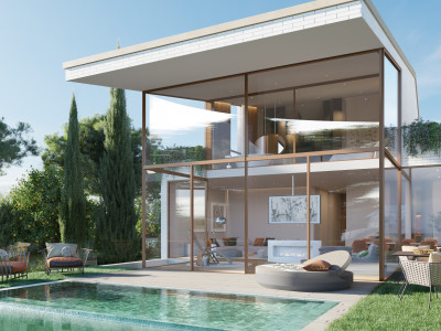 New contemporary complex of apartments and villas for sale in Benalmadena