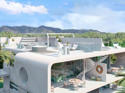 New contemporary apartments for sale in El Higueron Benalmadena