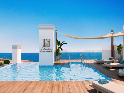 New contemporary beach apartments for sale in Estepona