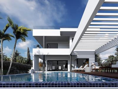 Off plan complex of luxury modern villas in Benalmádena Costa – Puerto Marina