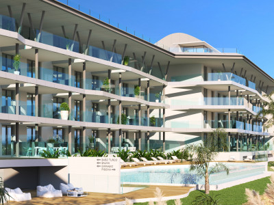 New project of contemporary apartments for sale in Reserva del Higuerón – Benalmadena