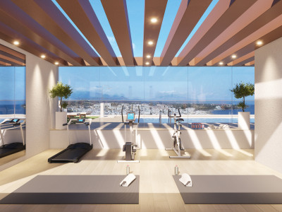 New contemporary beach front apartments for sale in Estepona Beach