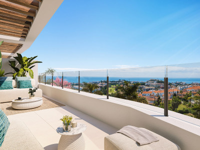 New modern apartments and penthouses for sale in Calanova - Mijas Costa