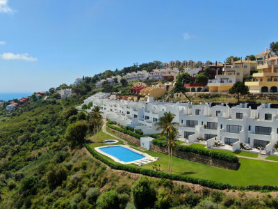 Brand new townhouses for sale in La Mairena Elviria -Marbella