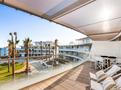 A brand new cutting edge development on the beach for sale in Estepona