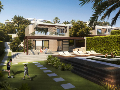 Villa en venta en El Velerin, Estepona