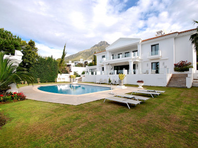 Villa zum Verkauf in Marbella Goldene Meile
