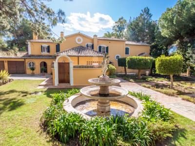 2 villas privadas y familiares frente al golf en Guadalmina Baja