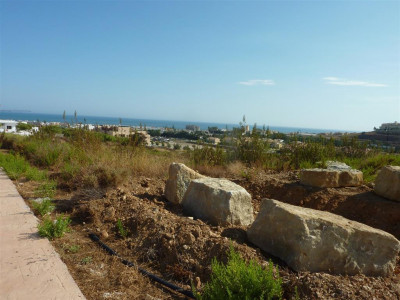 Mijas Costa, Building plot located close to the beach and La Cala de Mijas town centre