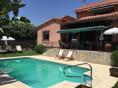 Marbella East, Beautiful villa for sale in Las Chapas in Marbella east a short walk from the beach