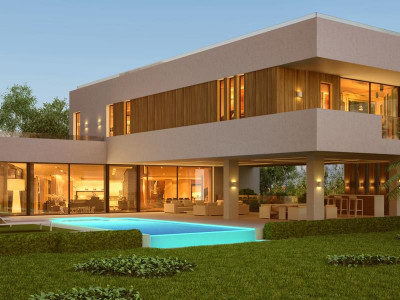 Benahavis, Brand new contemporary villa for sale in Benahavis with a bespoke design to your taste