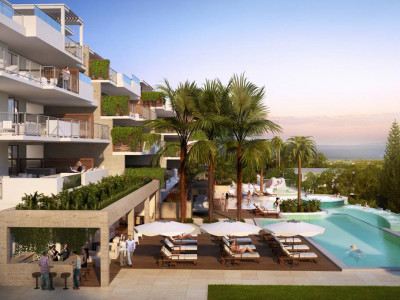 Mijas Costa, Brand new apartment for sale in La Cala de Mijas a ten minute walk from the beach