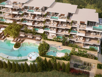 Mijas Costa, Brand new apartment for sale in La Cala de Mijas with panoramic sea & golf views